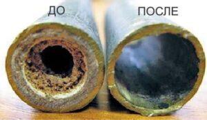 трубы систем отопления