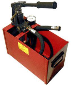 насос для гидравлических испытаний трубопроводов водоснабжения