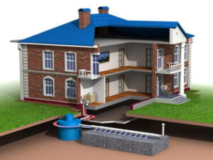 Монтаж канализации в доме